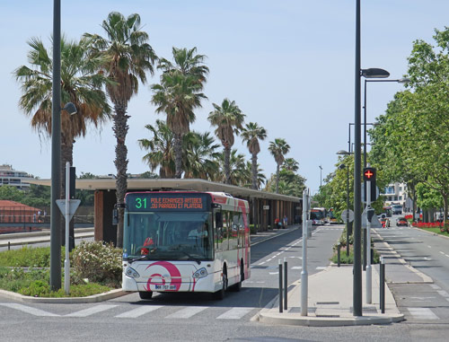 Antibes Bus Station