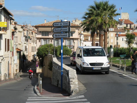 Car Rentals on the Cote d'Azur in France