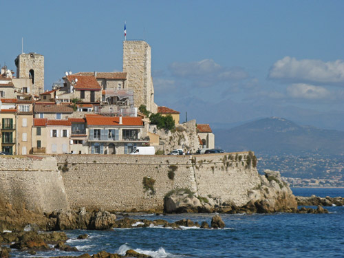 Chateau Grimaldi In Antibes France