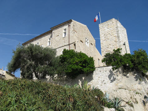 Musee de la Tour in Antibes France
