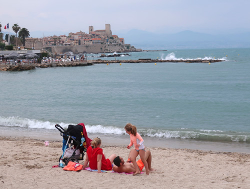 Plage Royal in Antibes France