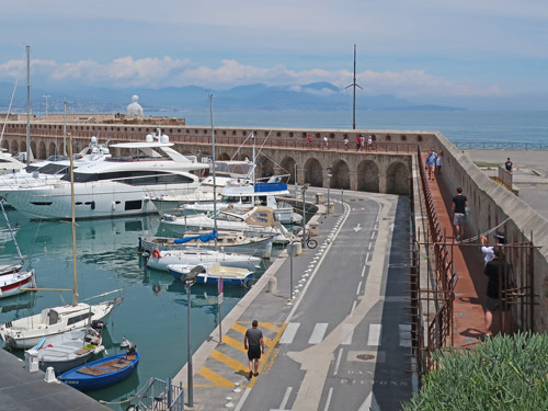 Old Port in Antibes France (Vieux Port)