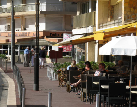 Sidewalk Cafes in Antibes France