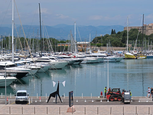 Yacht Harbor in Antibes